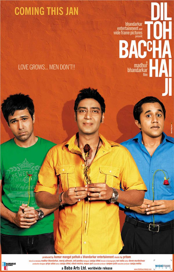 First Look Dil Toh Baccha Hai Ji Theatrical Trailer and Dil Toh Baccha Hai Ji Movie Poster