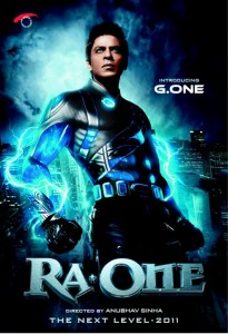 First Look of Ra-One Movie Poster
