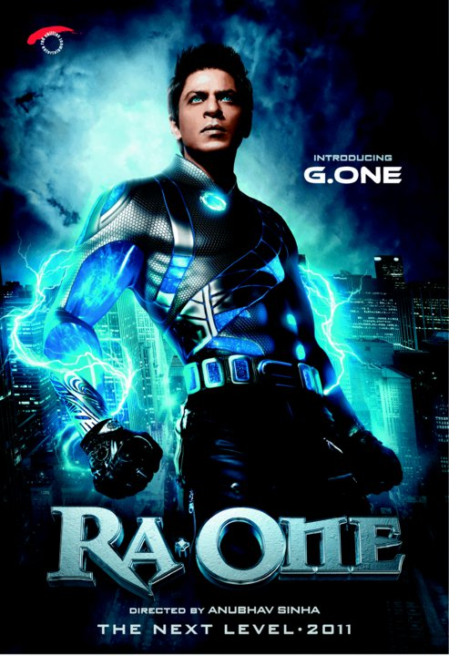 First Look of Ra One Movie Poster