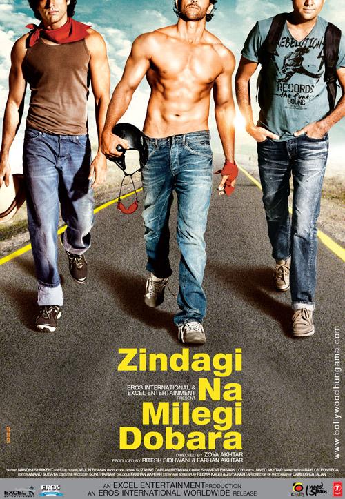 Zindagi Na Milegi Dobara first look movie poster