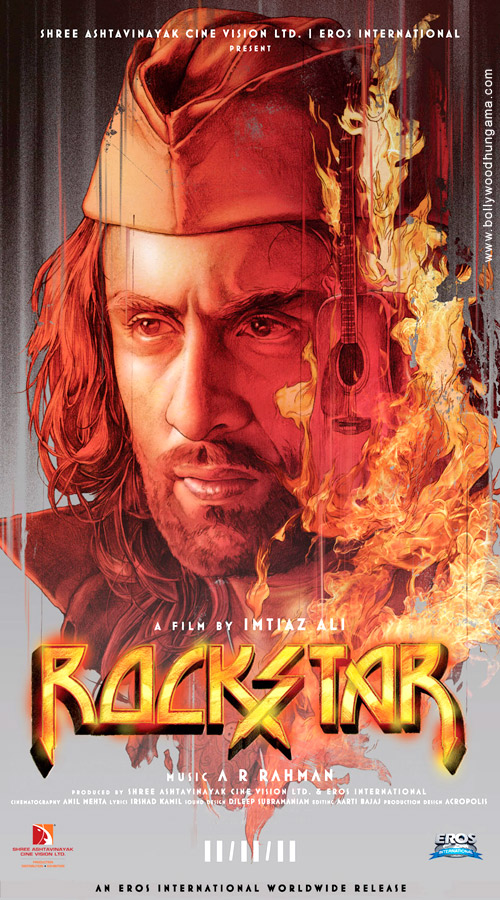 Exclusive First Look of Rockstar Theatrical Trailer and Rockstar Movie Poster