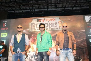 Raghu, Rannvijay & Rajiv at MTV Roadies 9 Audition in Hyderabad, 2011