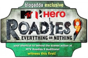 Wtness MTV Roadies 9 Auditions courtesy BlogAdda