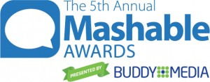 Mashable Social Awards 2011 Winners MTV Roadies for Best Social TV Show