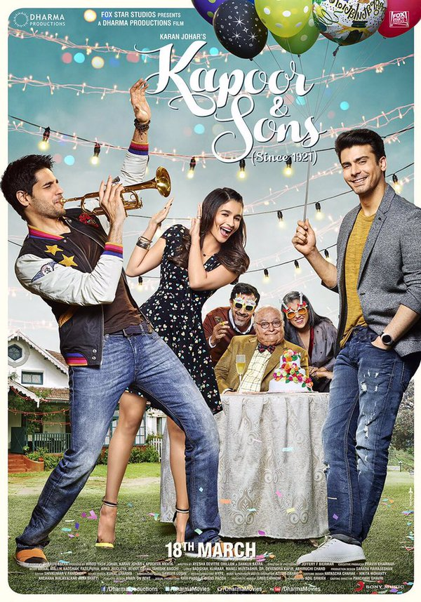 Watch Kapoor and Sons Theatrical Trailer Online