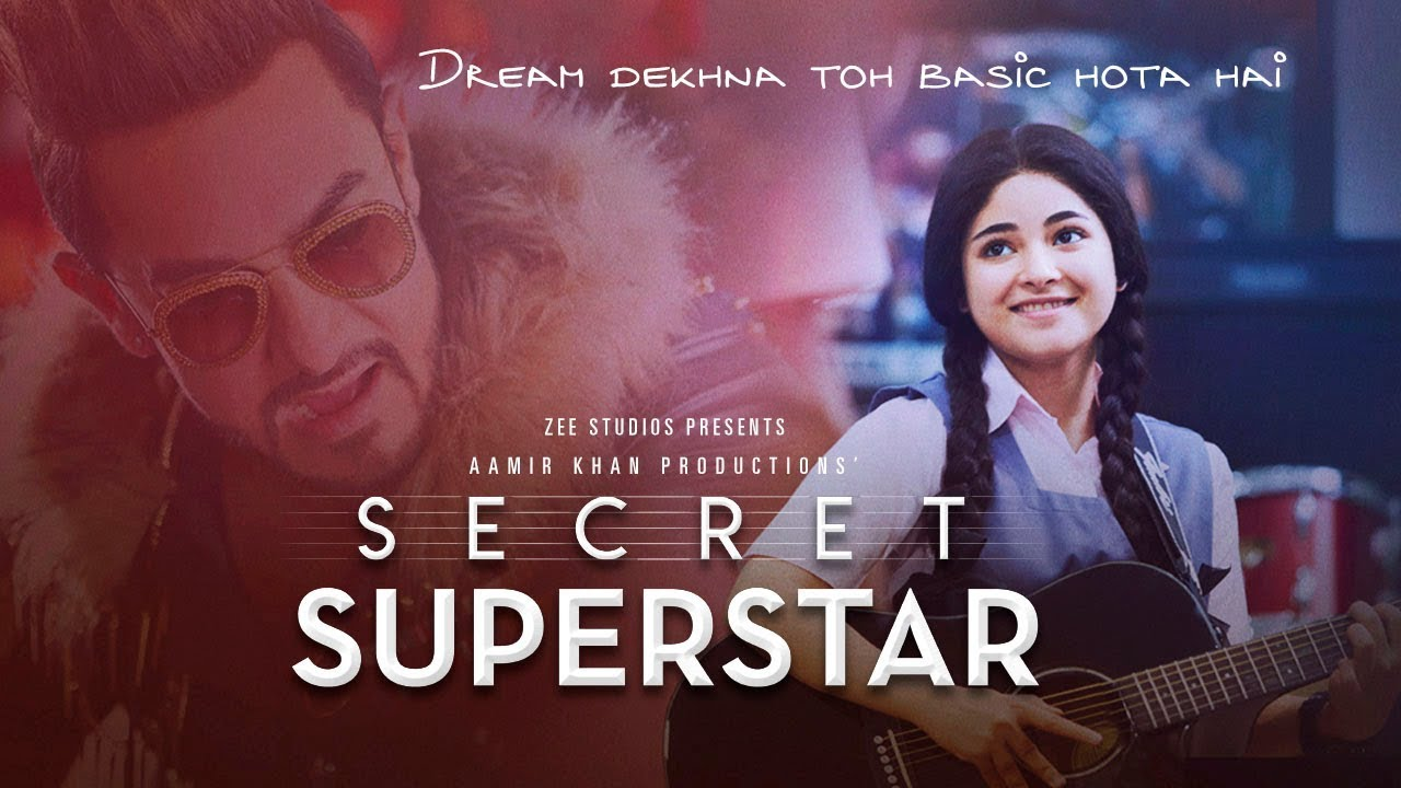 Secret Superstar Trailer Watch Online starring Aamir Khan and Zaira Wasim