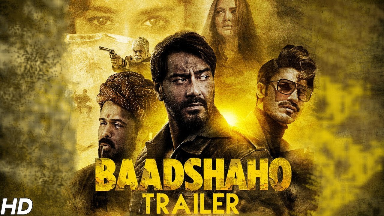 Baadshaho Official Trailer Watch Online